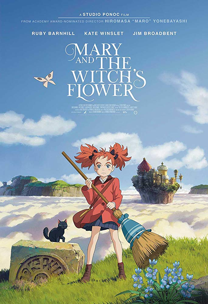 Mary and the Witch's Flower ماري و گل جادوگر